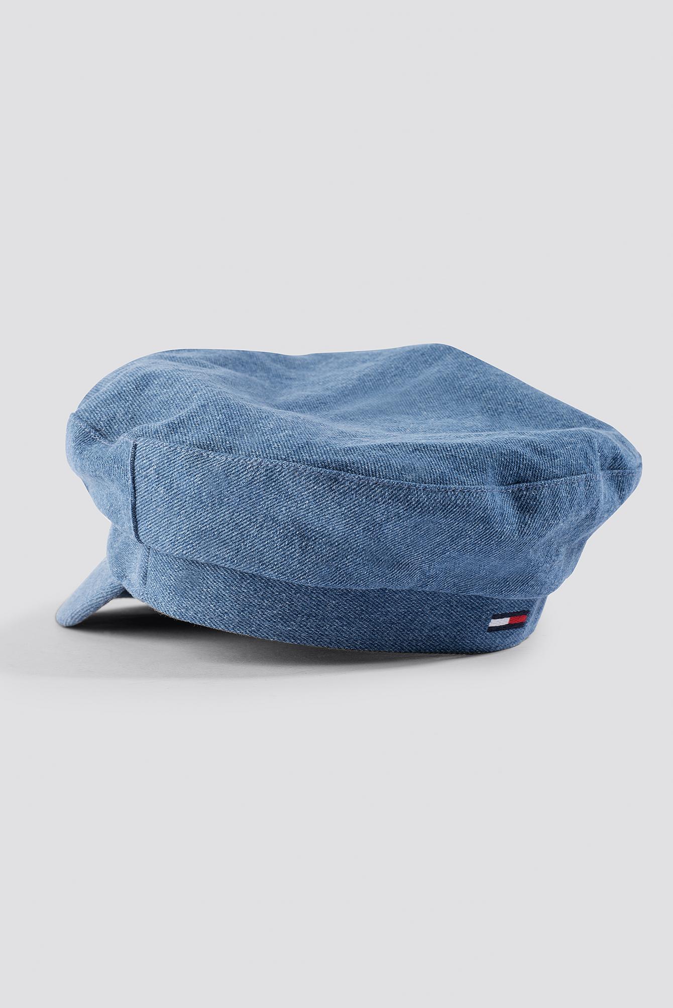 Denim Baker Boy Hat NA-KD.COM
