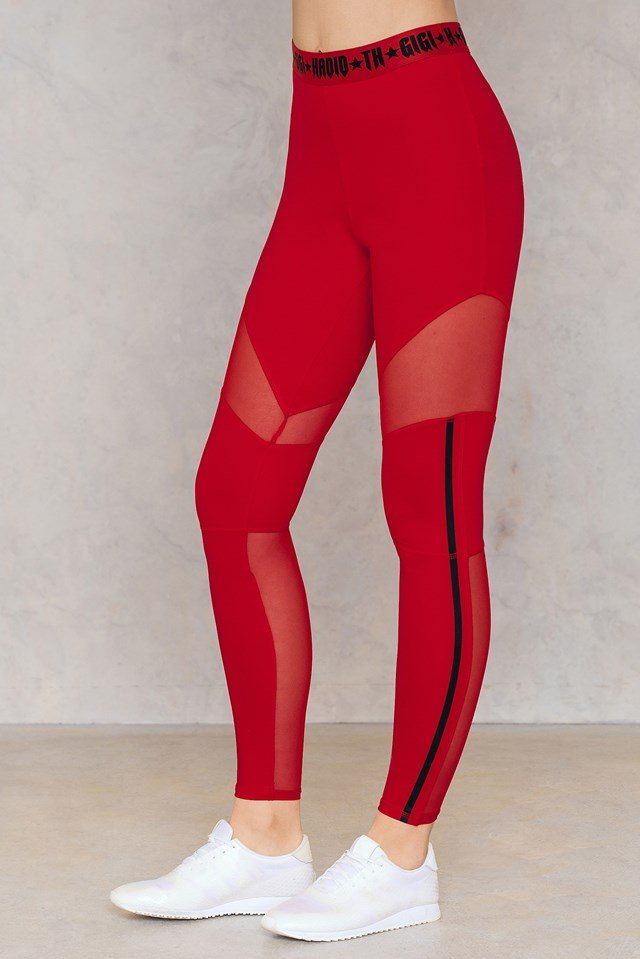 Gigi Hadid Sport Pant True Red