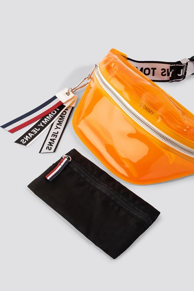 Logo Tape Bumbag Tran Radiant Yellow