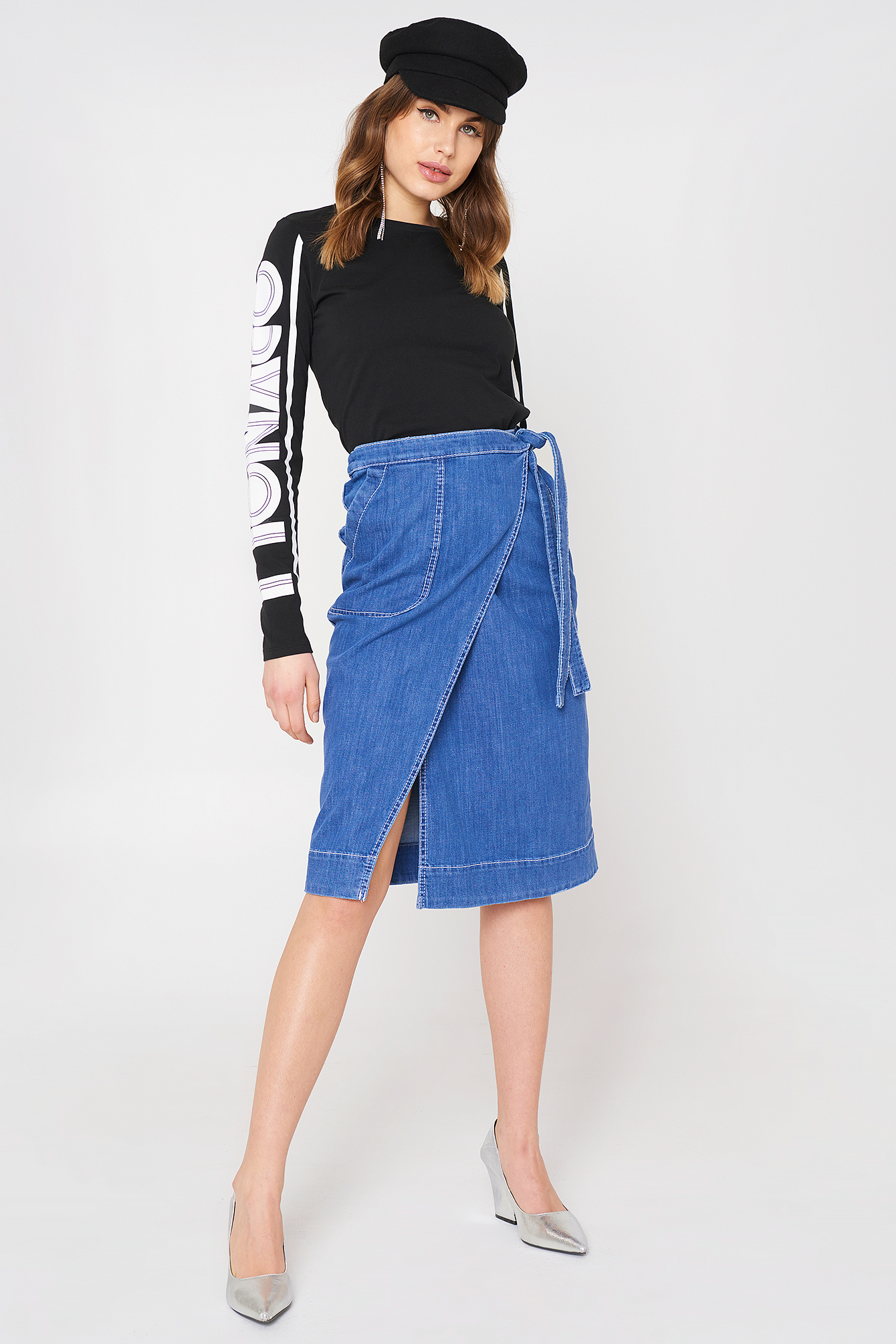 tommy hilfiger -  Lylyan Skirt - Blue