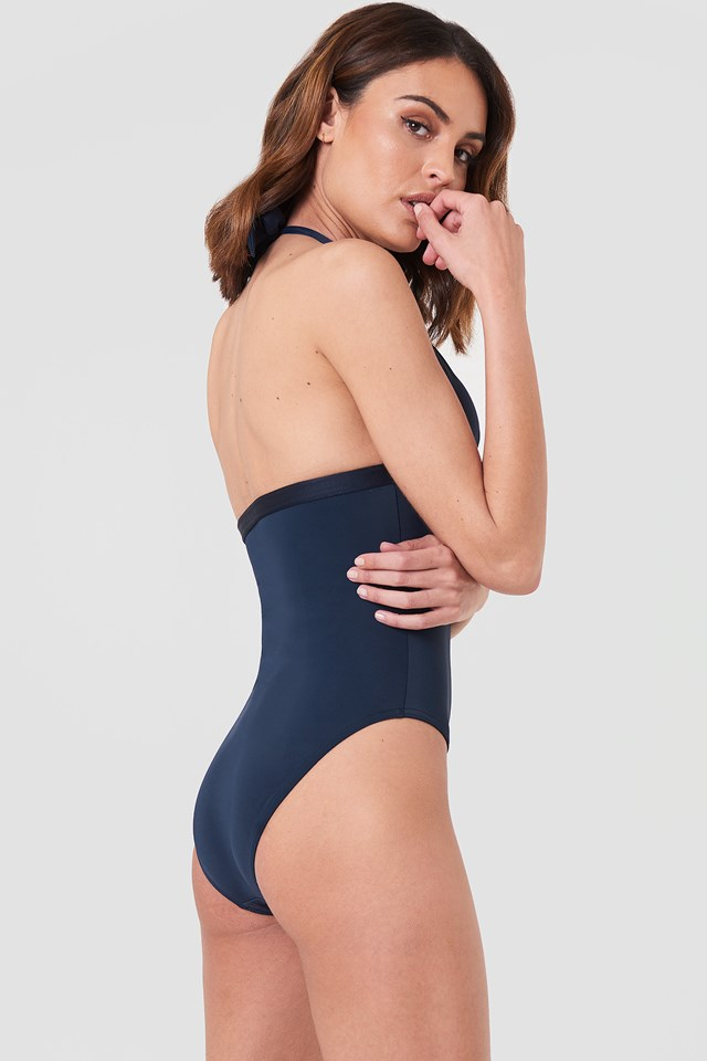 One Piece RP Swimsuit Navy Blazer