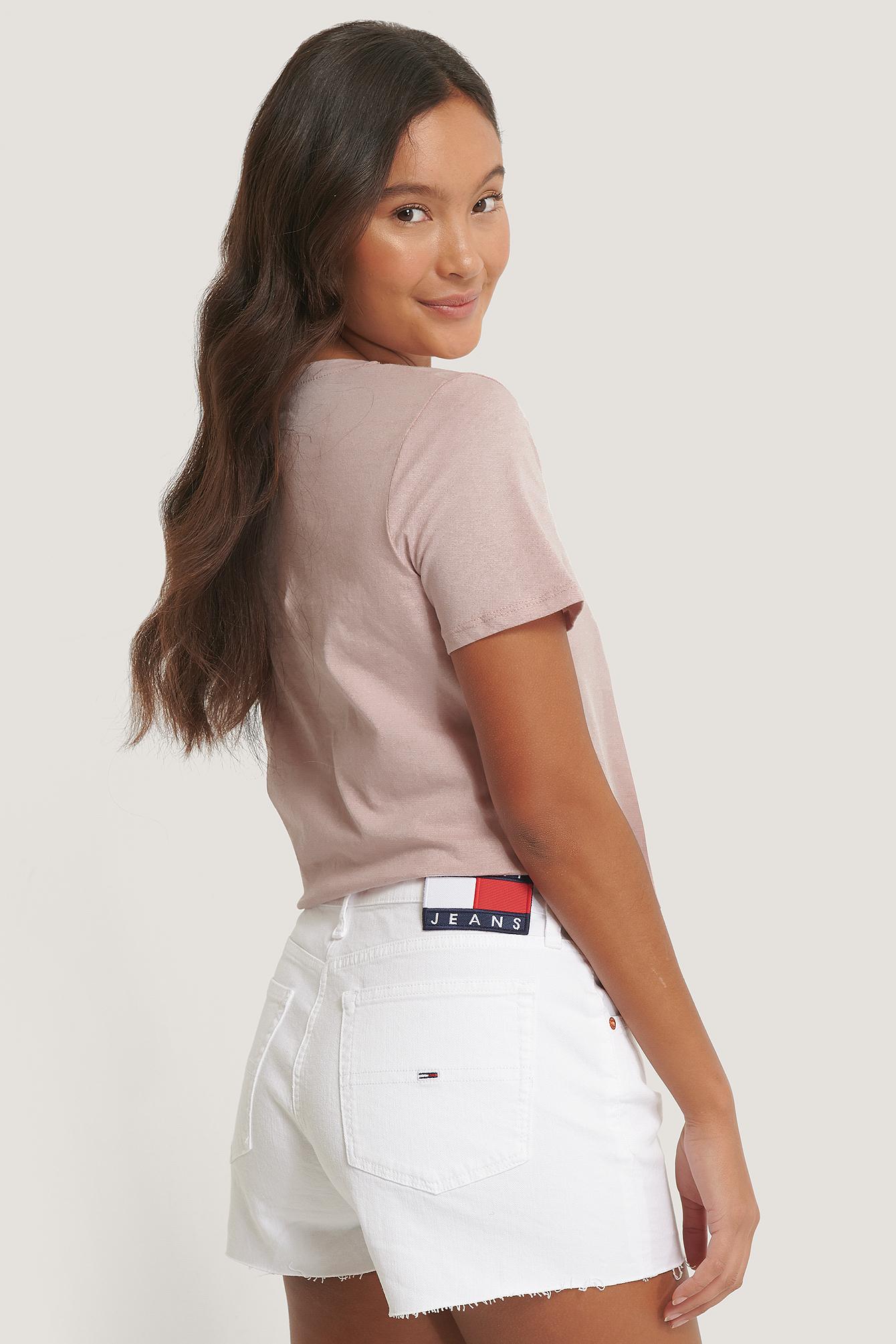 Tommy Jeans Denimshorts - White