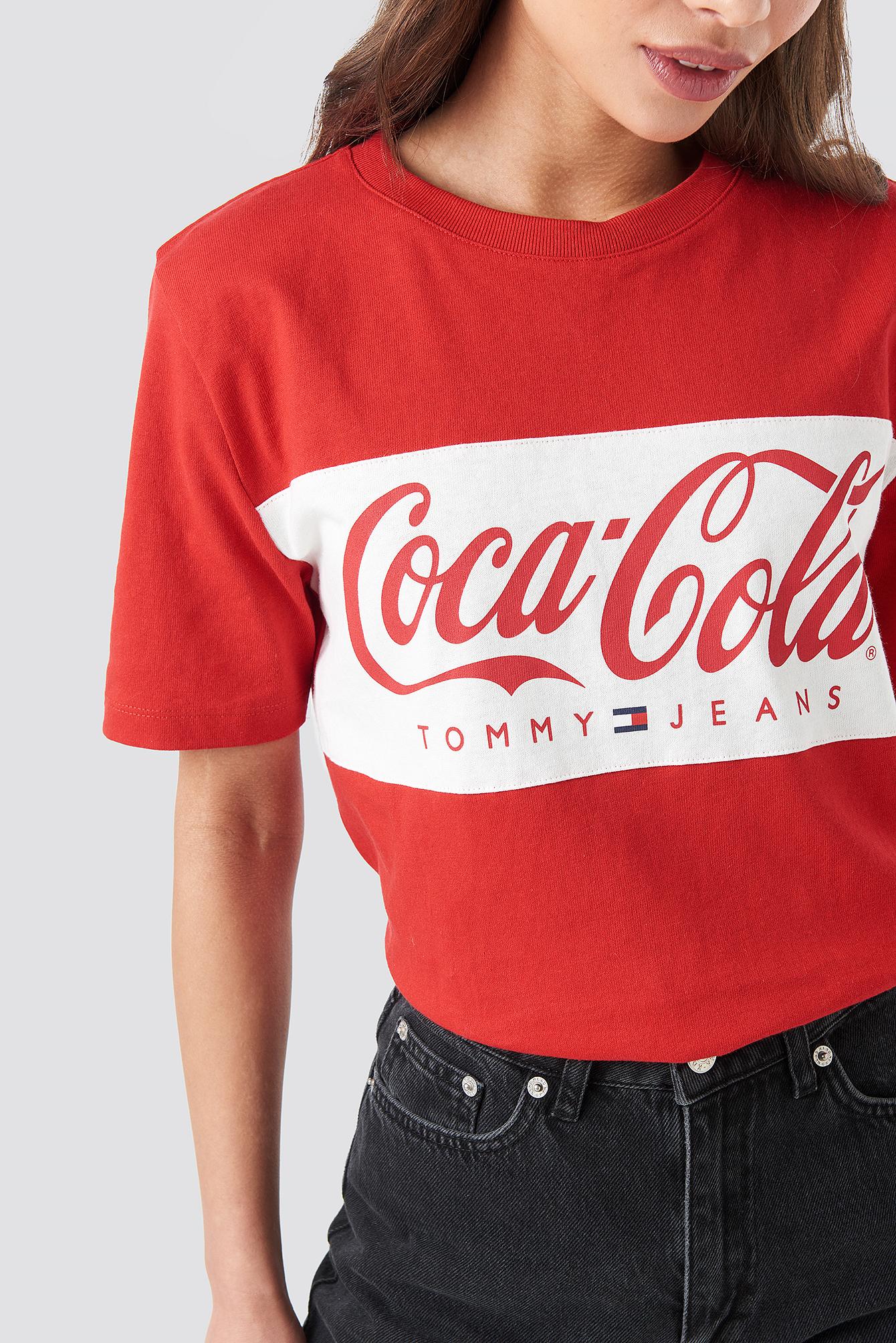 Tommy x Coca Cola Tee NA-KD.COM
