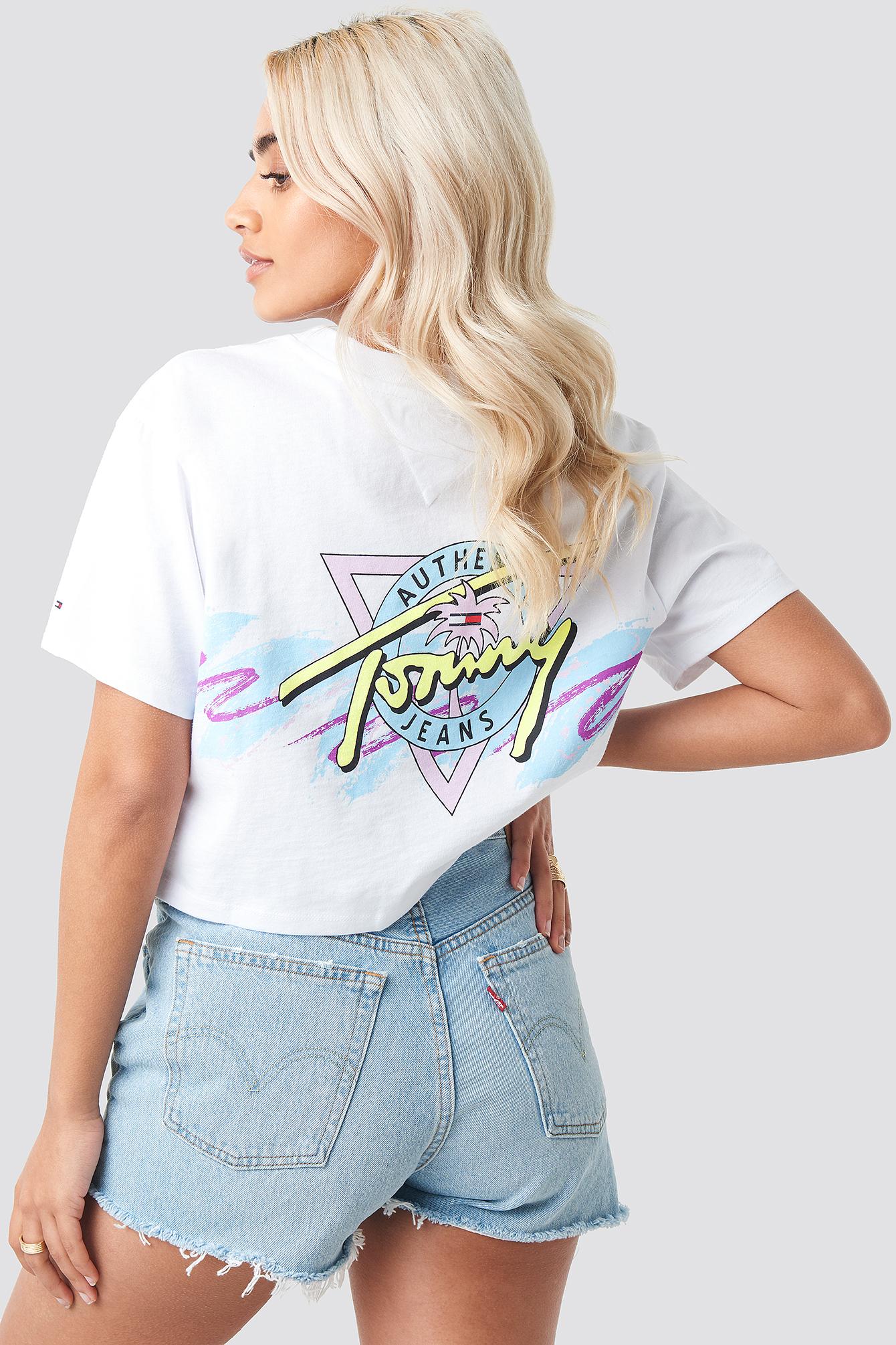 Tommy Jeans Retro Tee NA-KD.COM