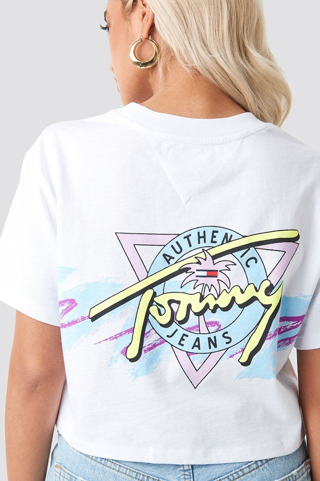 Tommy Jeans Retro Tee Classic White