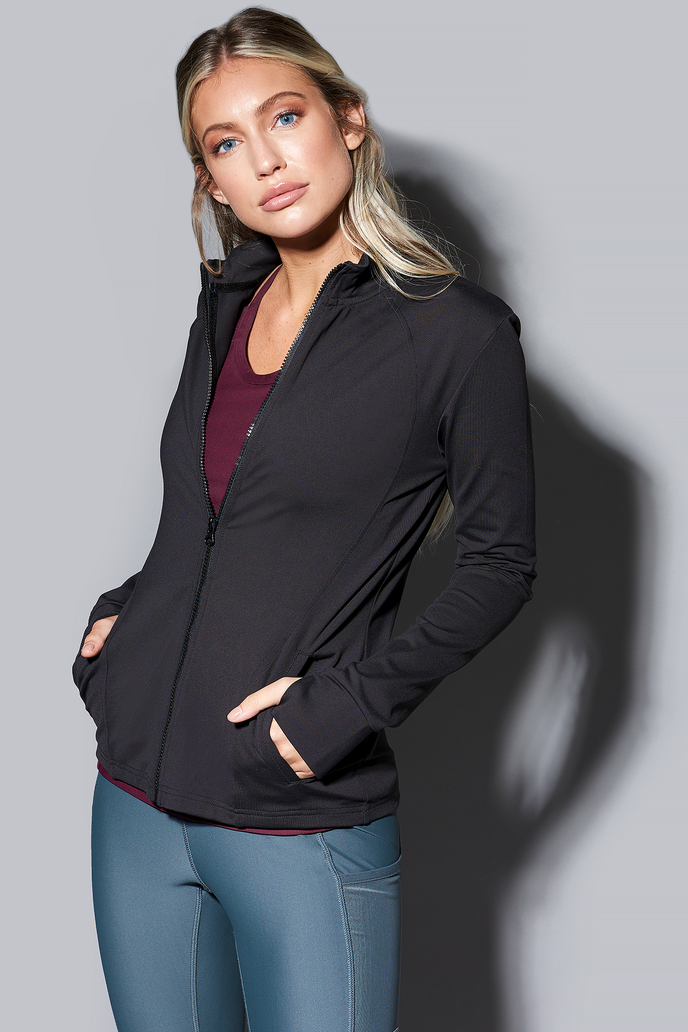 All Rounder Zip Jacket NA-KD.COM