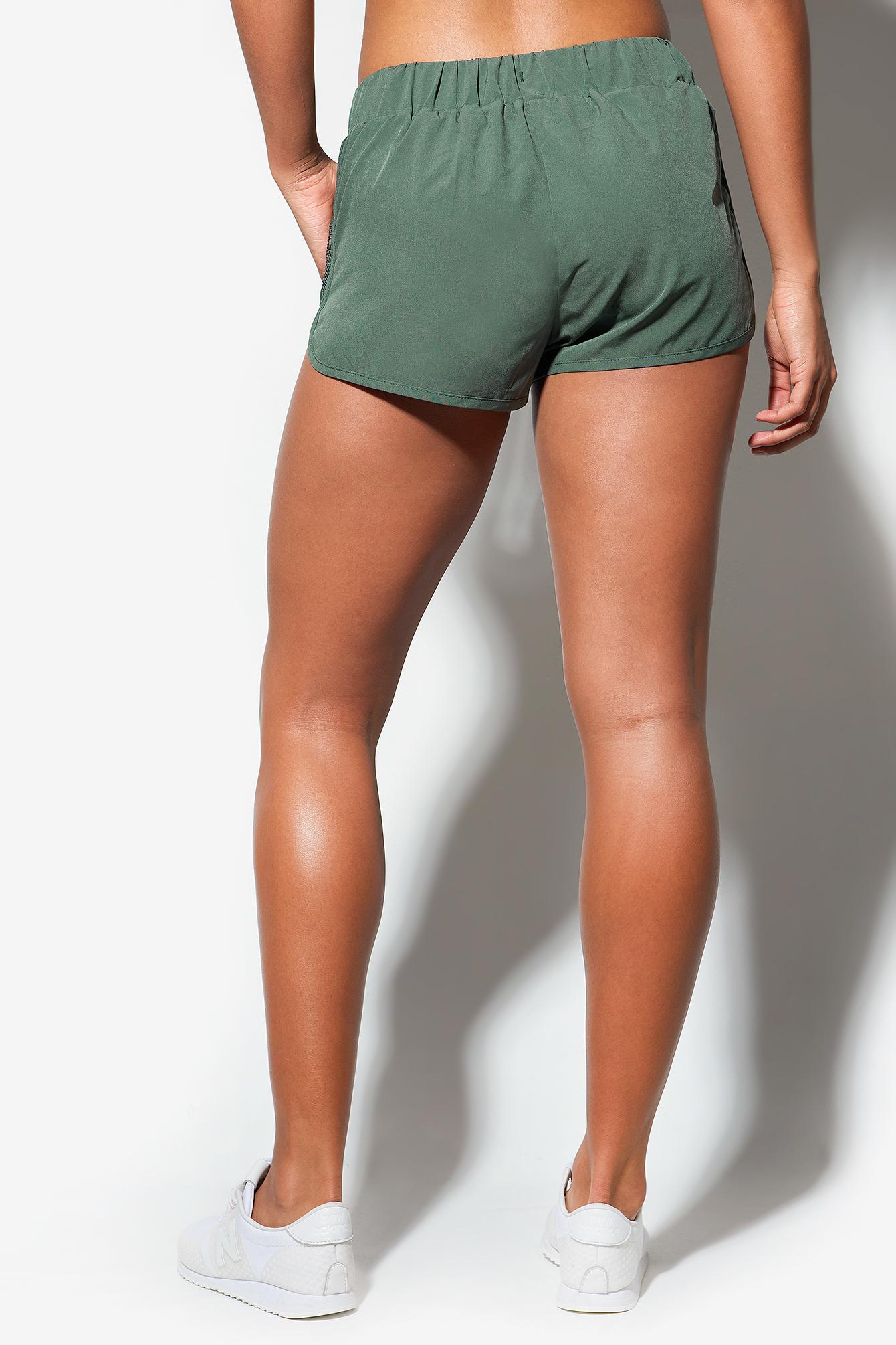 Misty Mesh Shorts NA-KD.COM