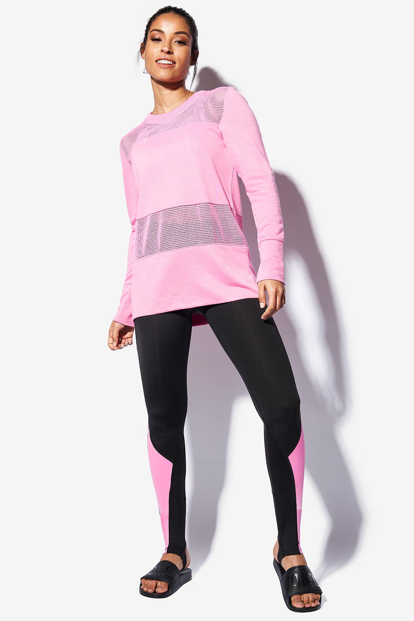Mixed Mesh Sweater NA-KD.COM