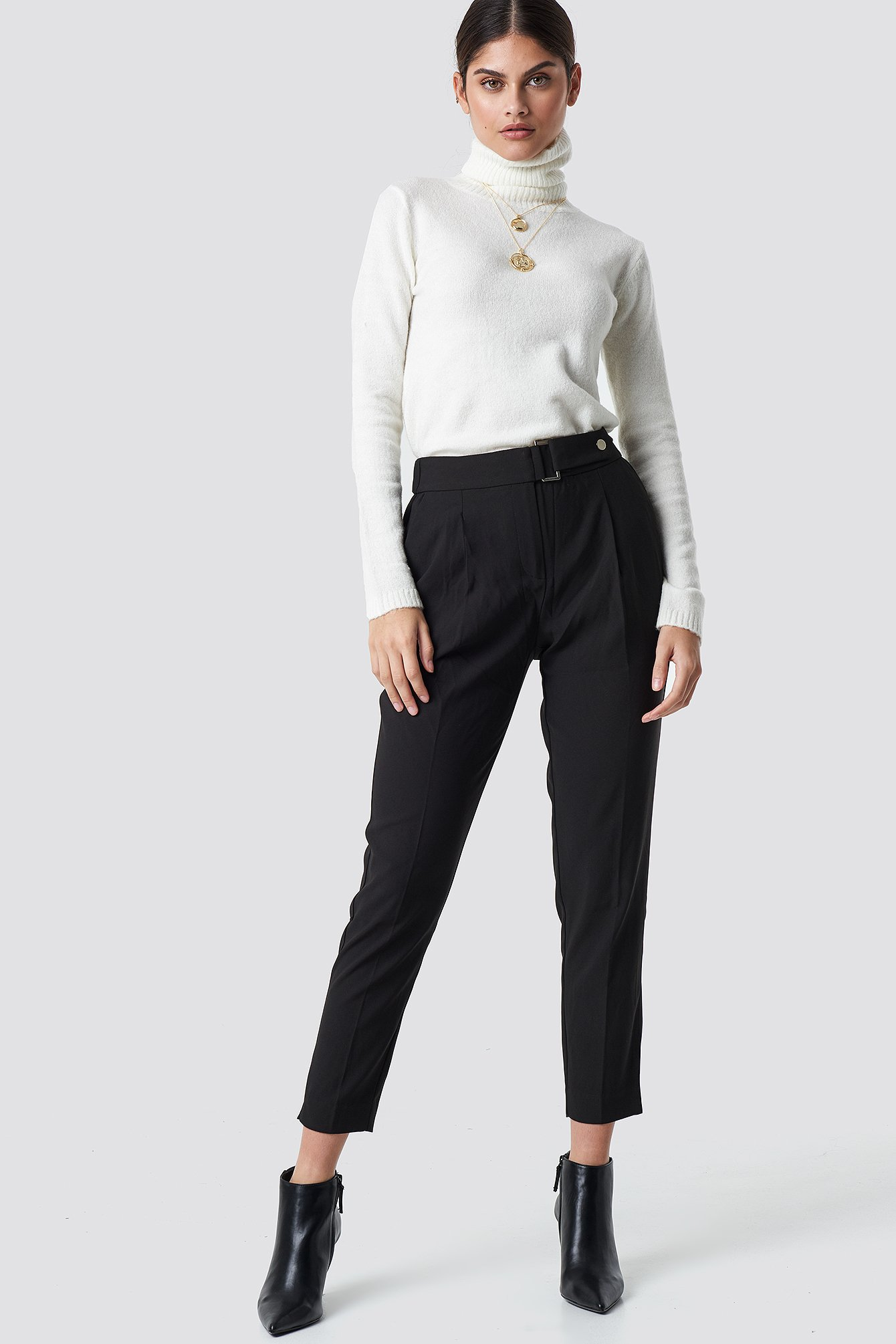 High Waisted Trousers NA-KD.COM