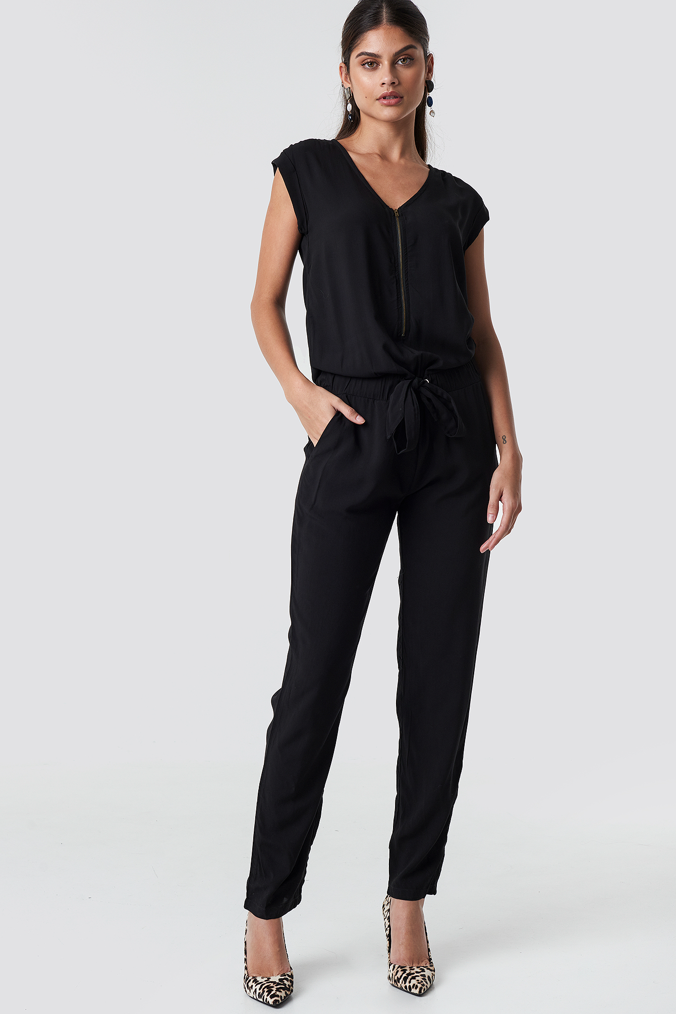 Zipper Jumpsuit NA-KD.COM