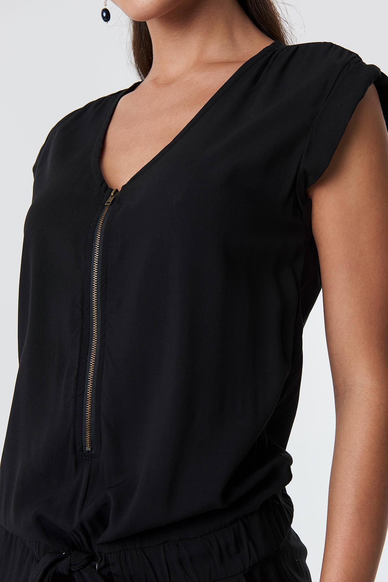 Zipper Jumpsuit NA-KD.COM