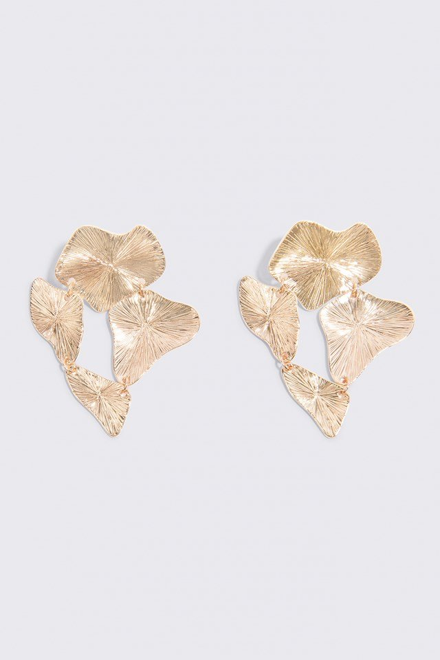 Connected Earring Gold
