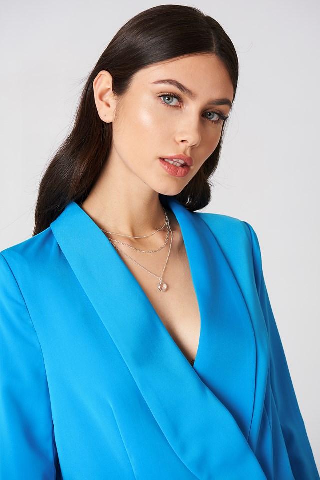 Layered Stone Necklace NA-KD.COM