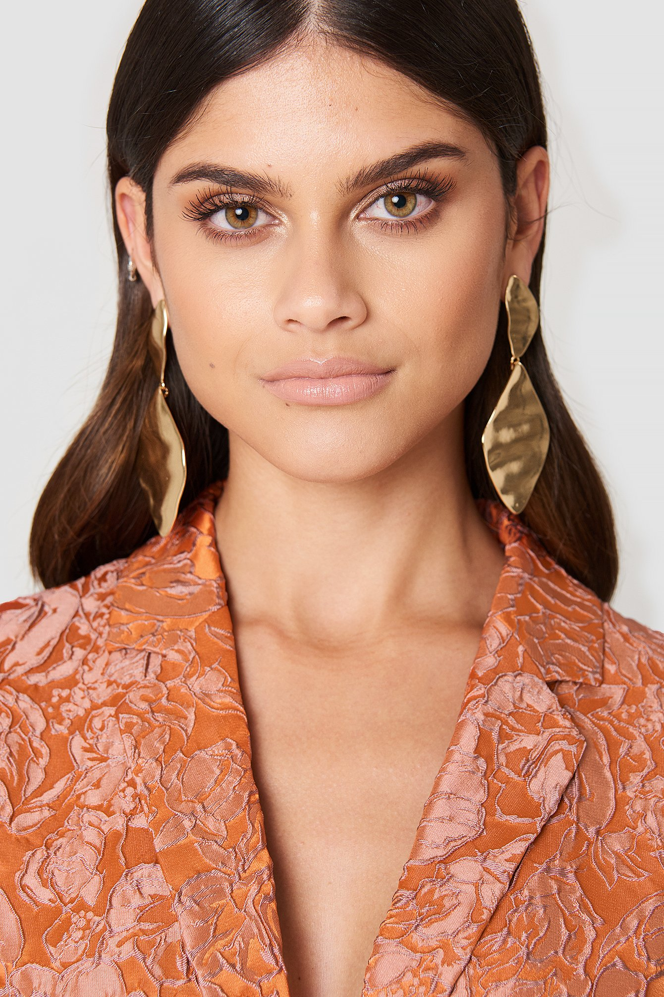 tranloev -  Melted Romb Earring - Gold