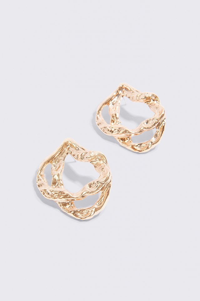 On Top Earring Gold