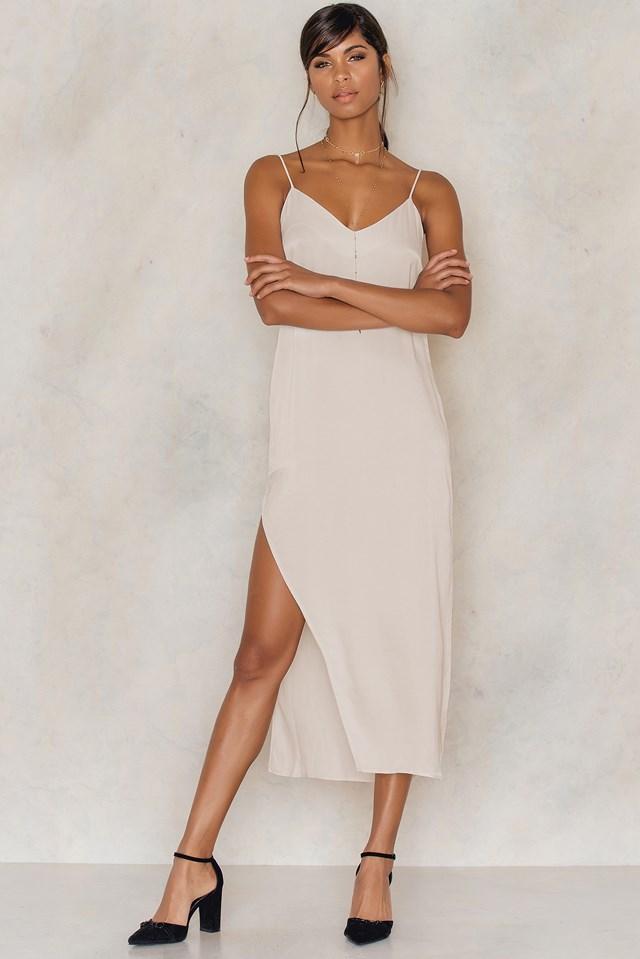 Slip Dress Light Champange