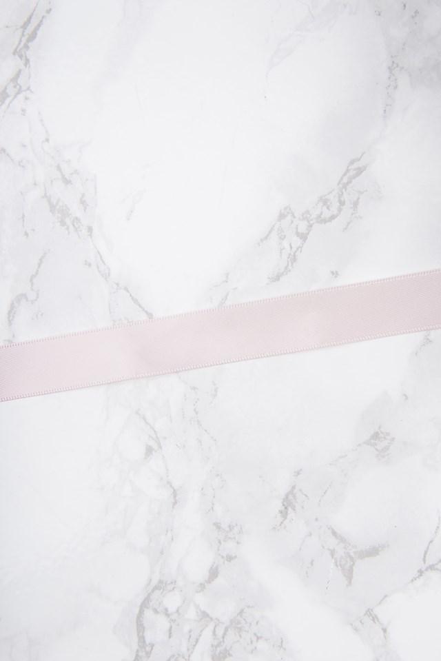 Thin Satin Choker Soft Pink