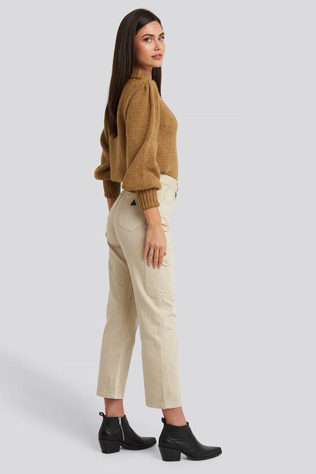 A Venice Straight Jeans Sandy