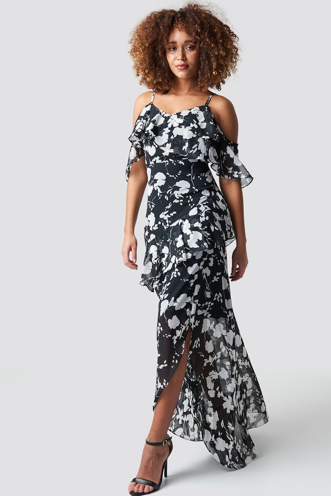 Abi Detailed Maxi Dress NA-KD.COM