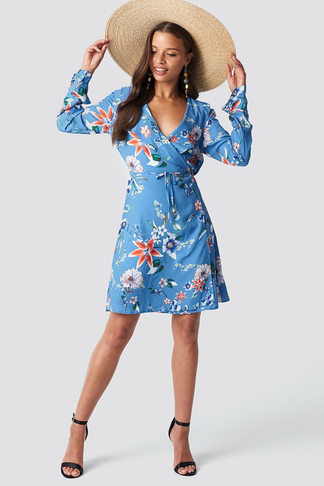 Agapi Mini Dress Blue