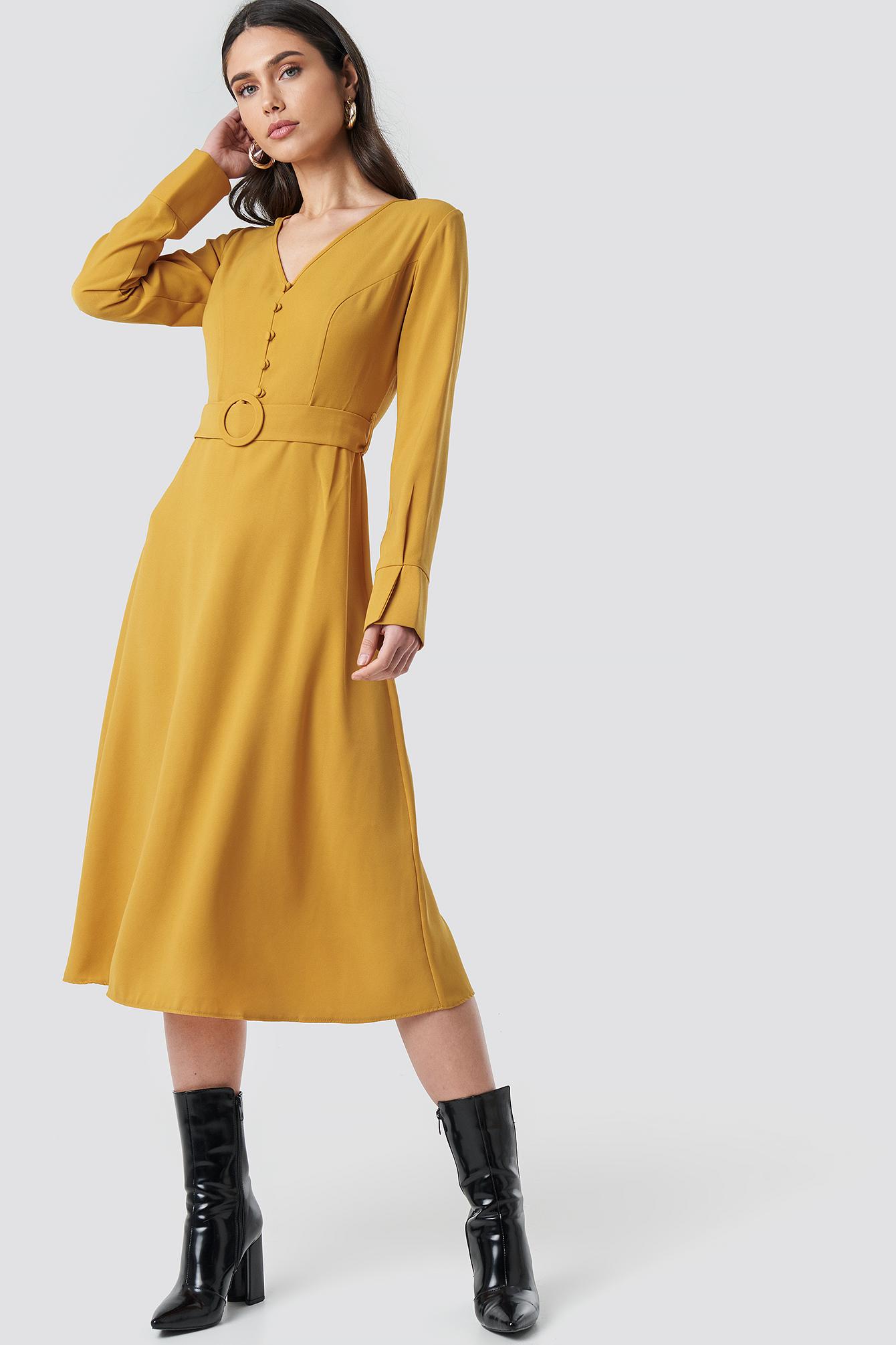 Arched Long Dress NA-KD.COM