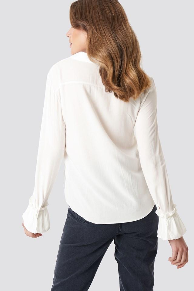 Arm Detailed Shirt NA-KD.COM