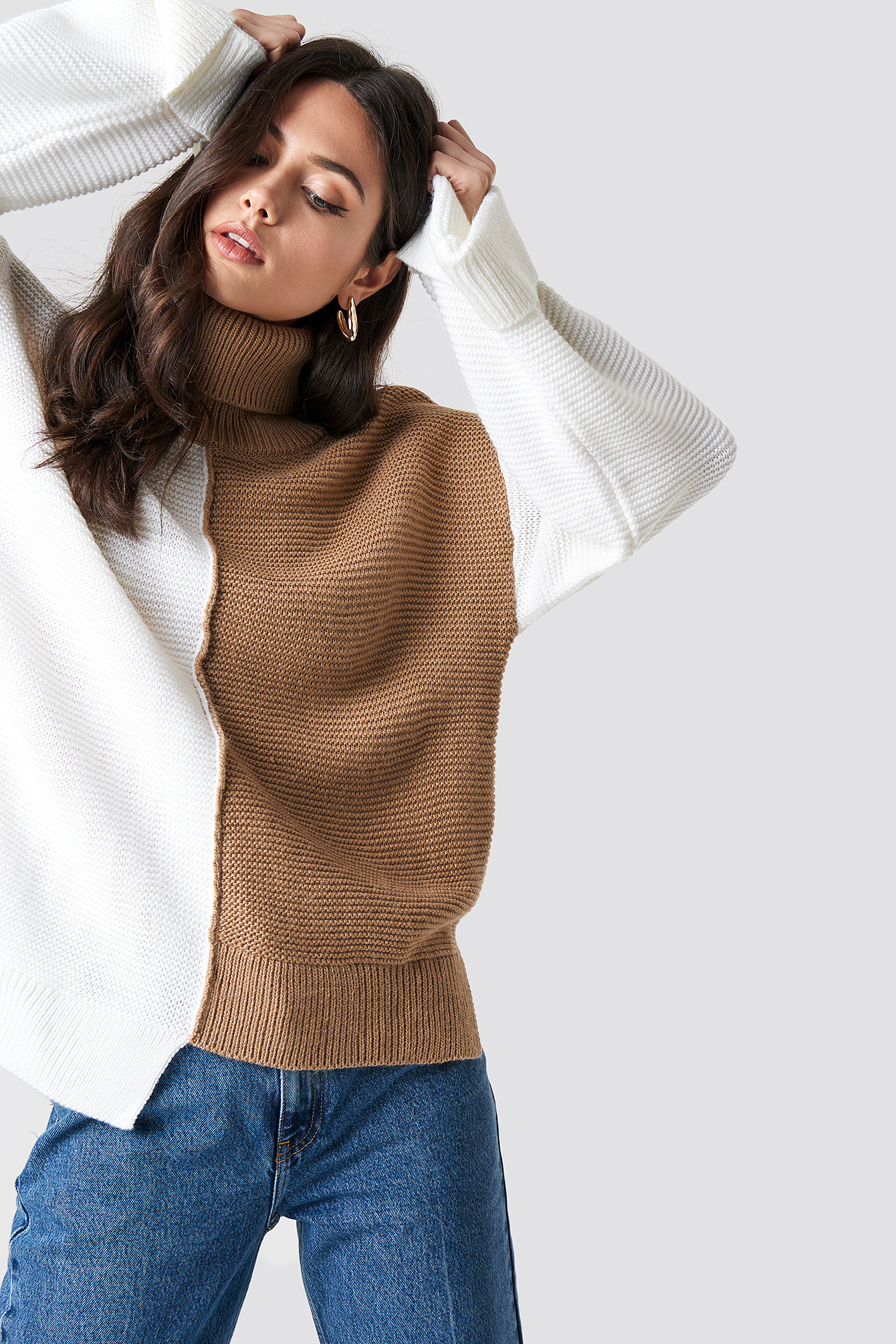 Asymmetric Block Colored Jumper NA-KD.COM