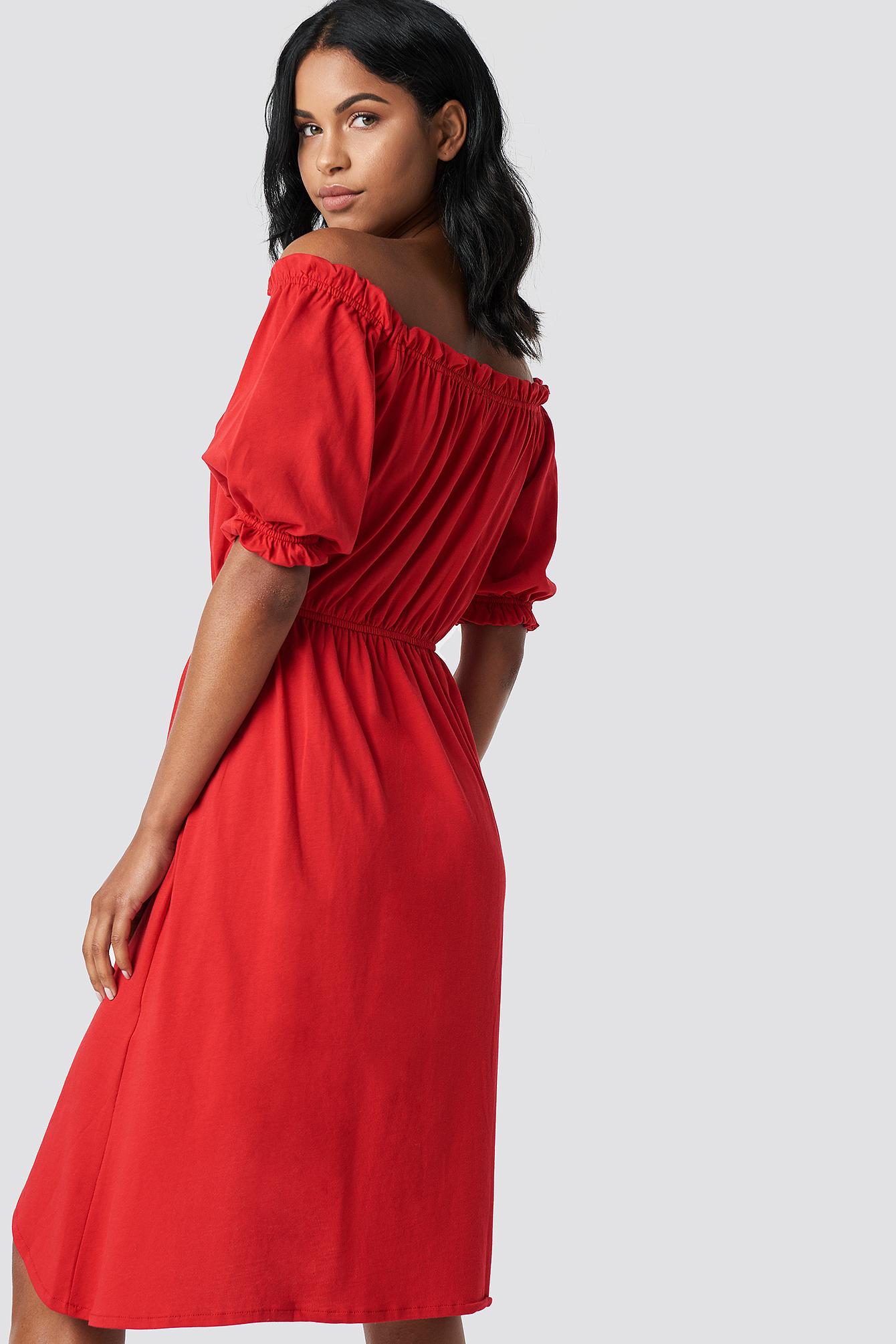 Asymmetric Knitted Dress NA-KD.COM