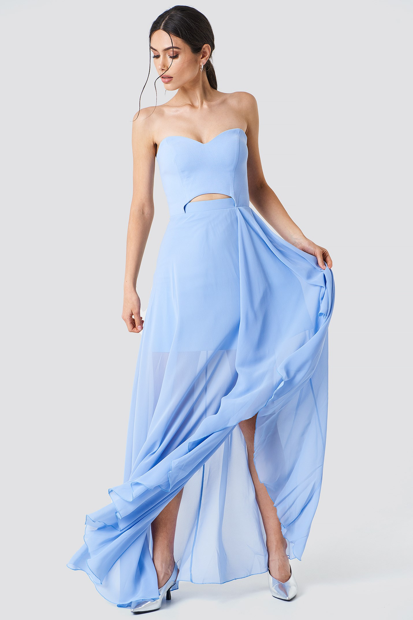Asymmetric Maxi Dress NA-KD.COM