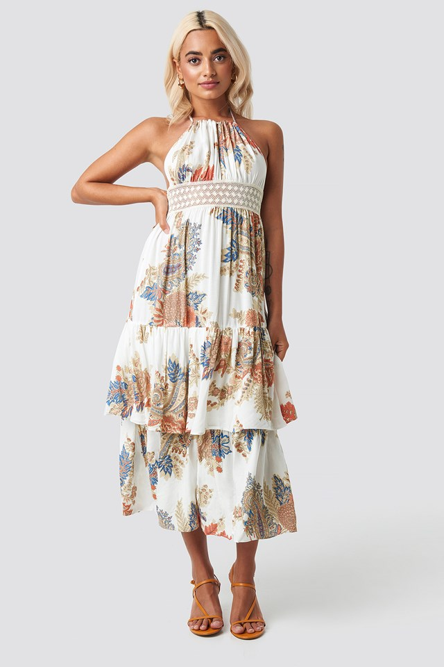 Back Trimmed Beach Dress NA-KD.COM