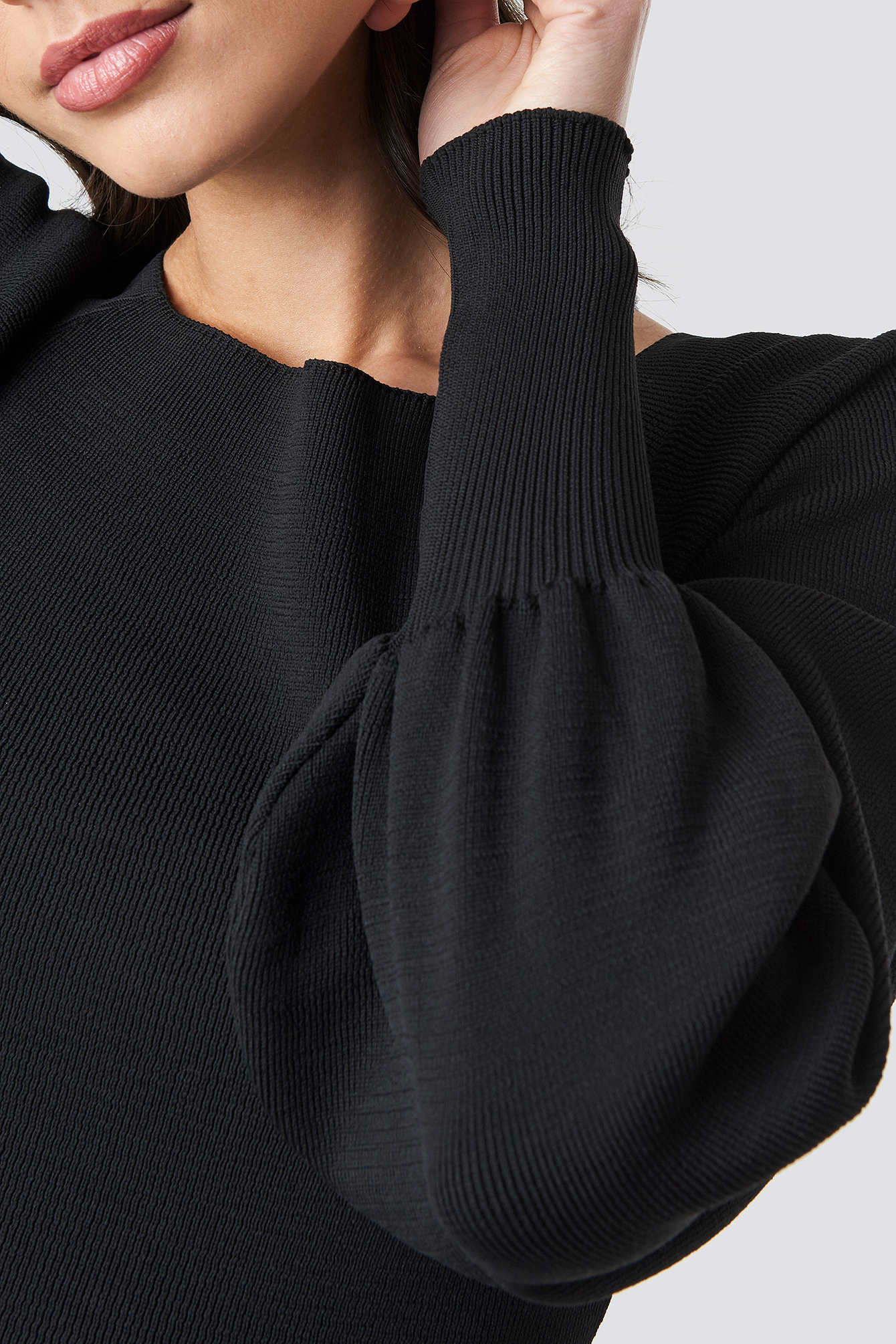Balloon Sleeve Knitwear Pullover NA-KD.COM