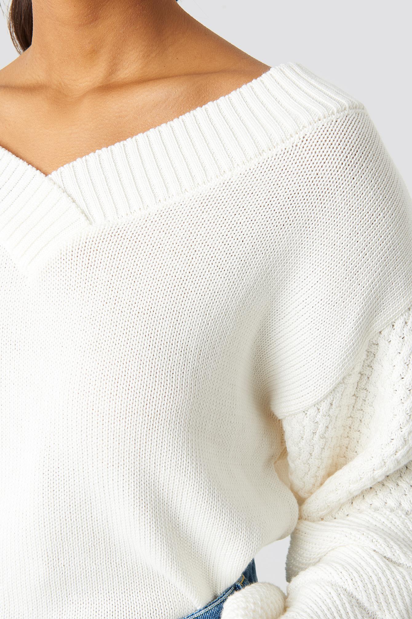 Balloon Sleeve Light Sweater NA-KD.COM