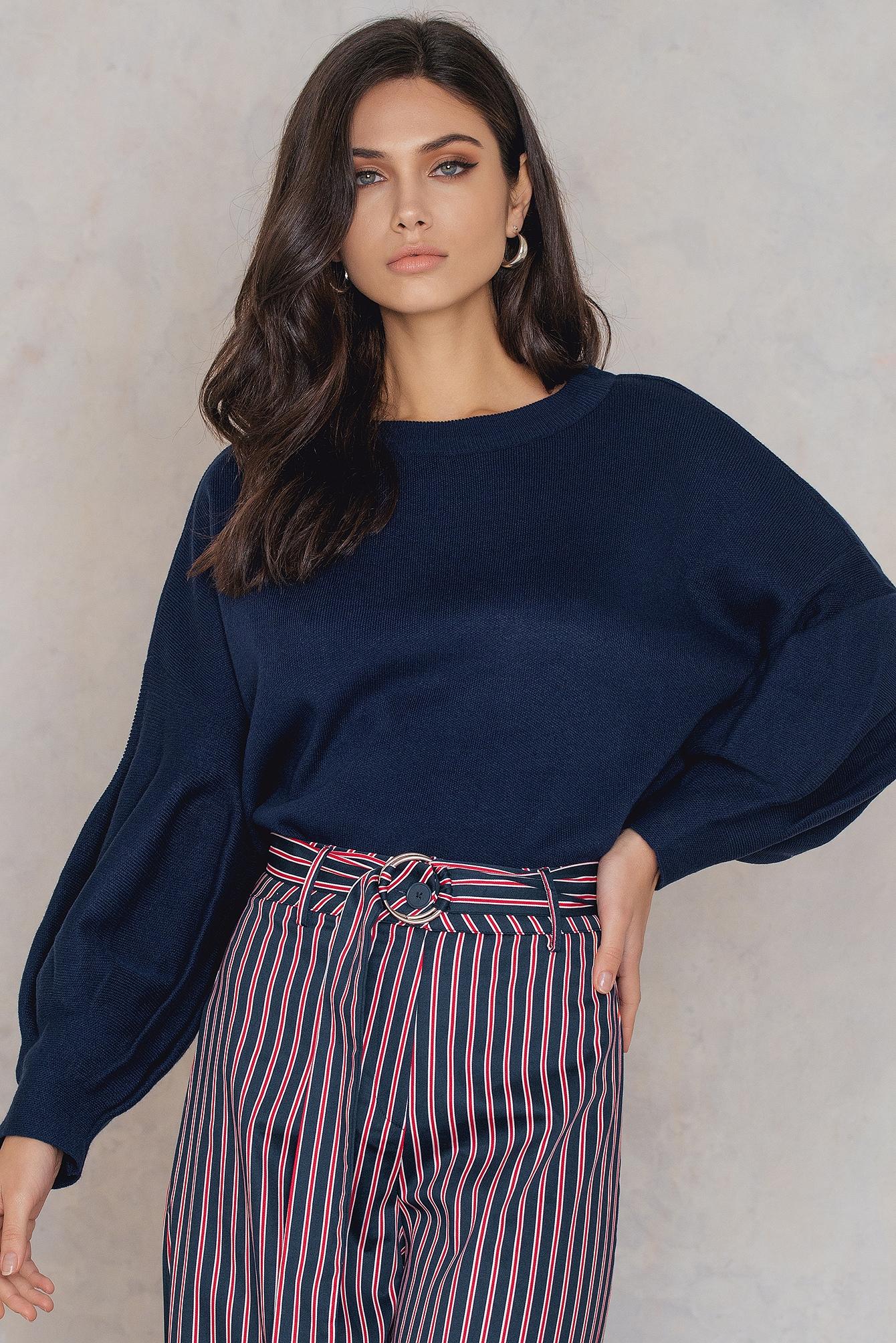 35ae340033831 Balloon Sleeve Sweater