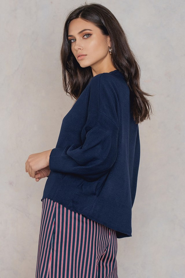 Balloon Sleeve Sweater NA-KD.COM