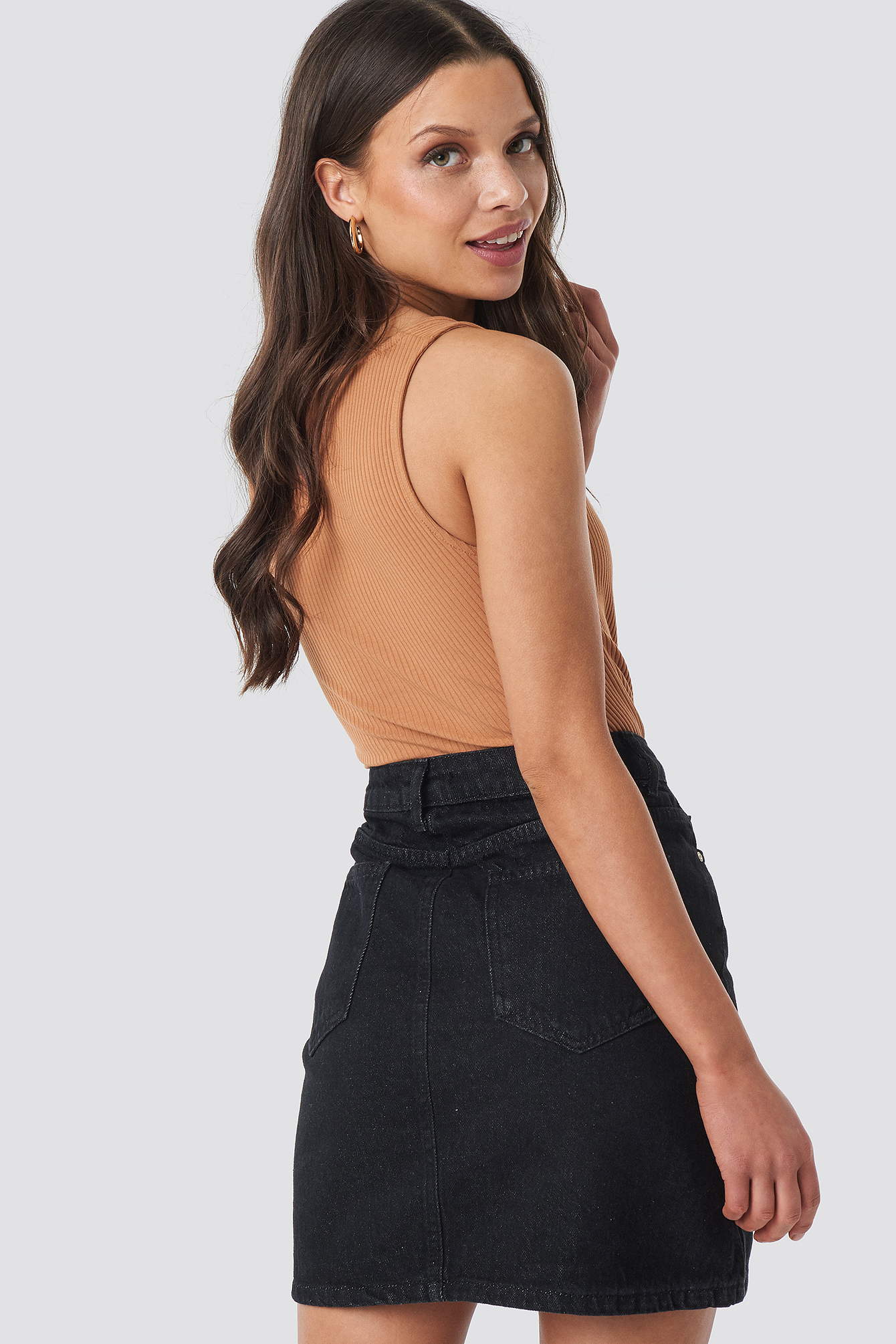 Milla Basic Denim Skirt NA-KD.COM