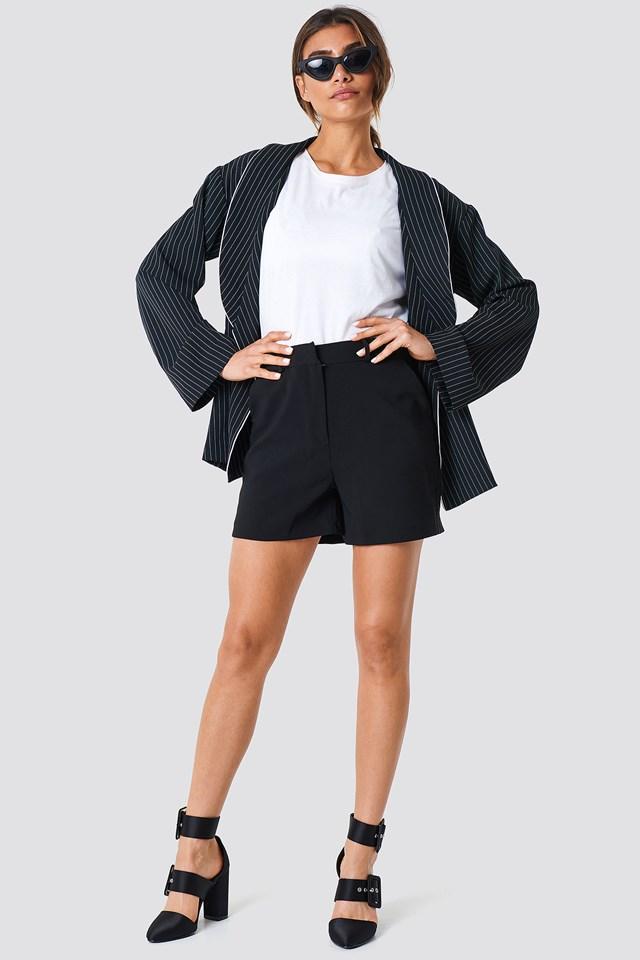 Basic Mini Shorts Black