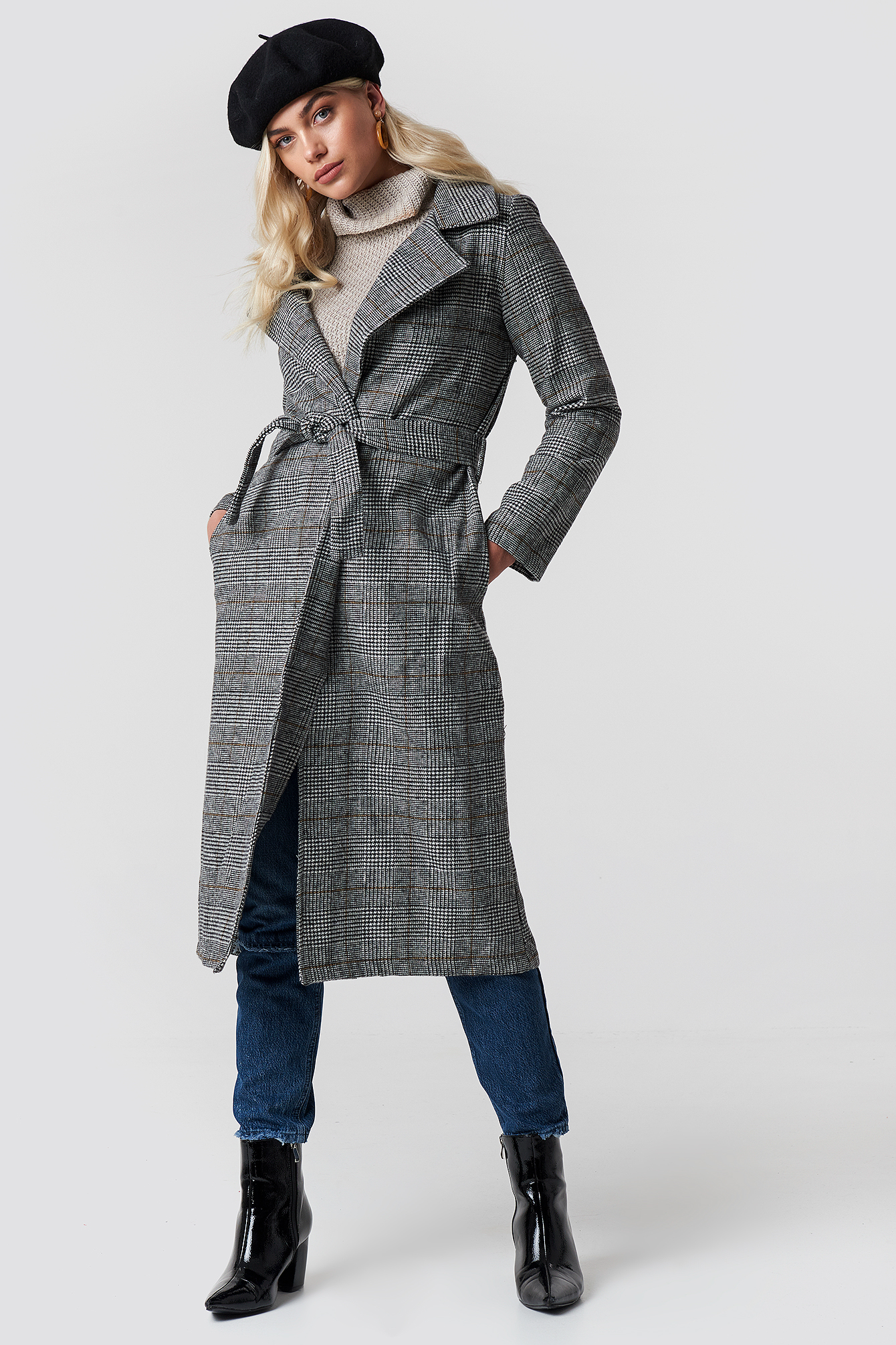 Belted Overcoat NA-KD.COM