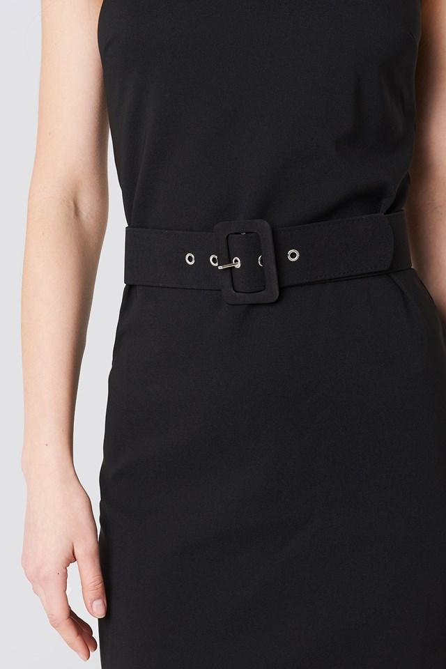 Belted Waist Dress NA-KD.COM