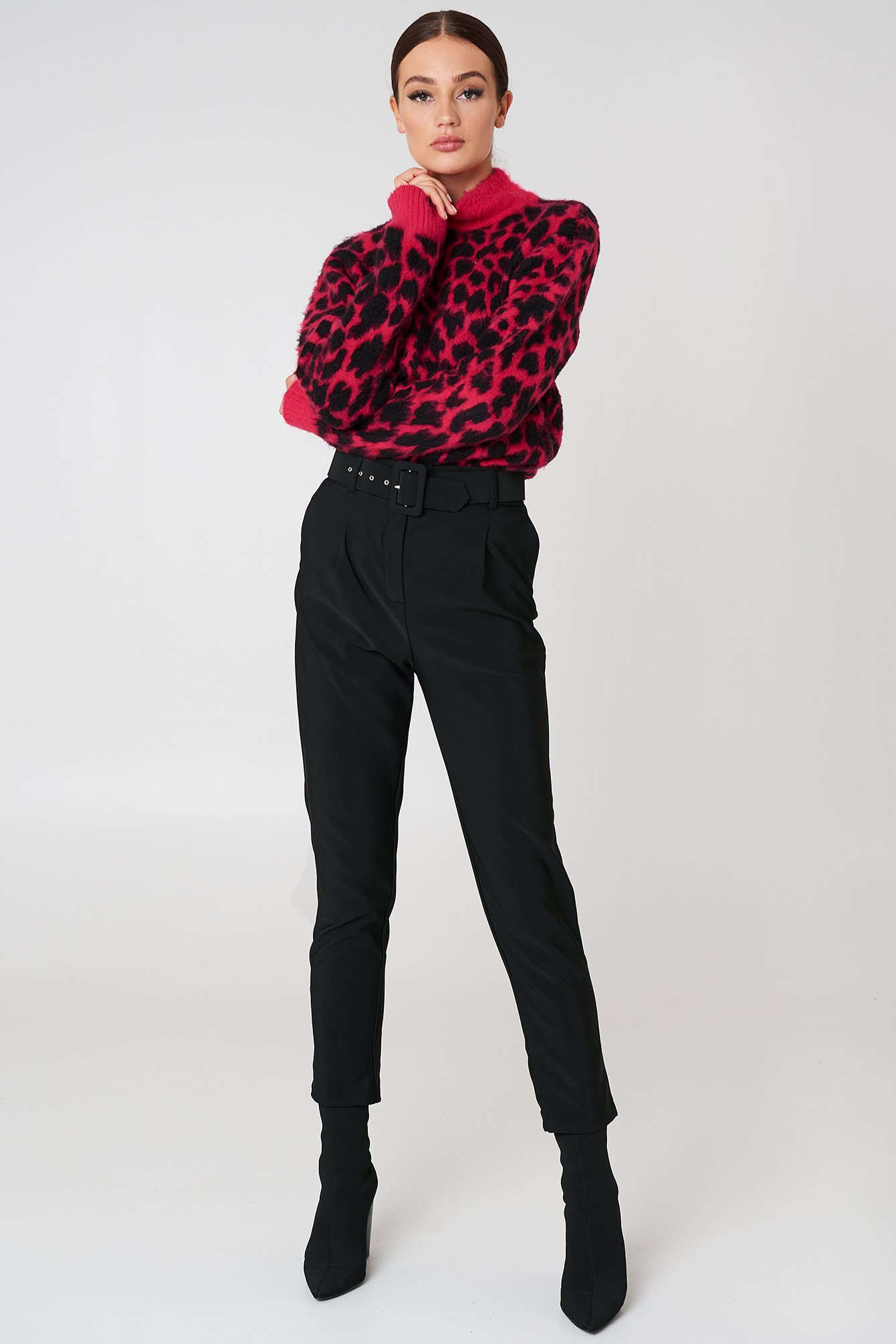 Belted Waist Trousers NA-KD.COM