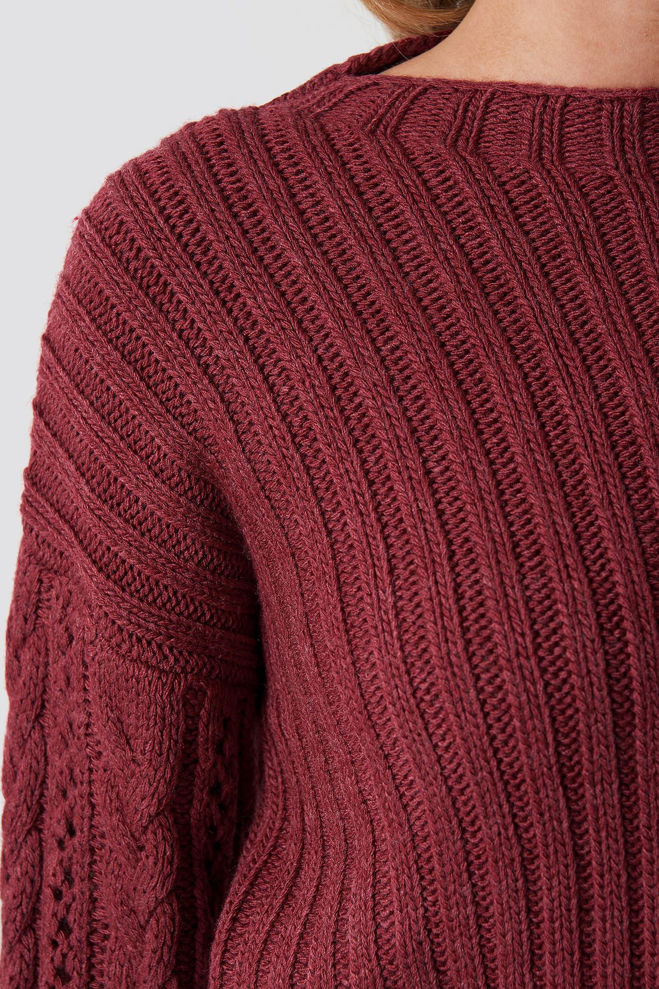 Bicycle Collar Sweater NA-KD.COM