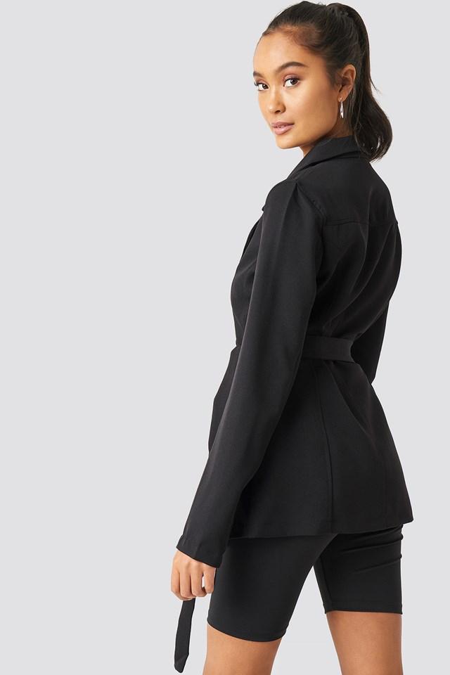 Binding Detailed Blazer Jacket NA-KD.COM