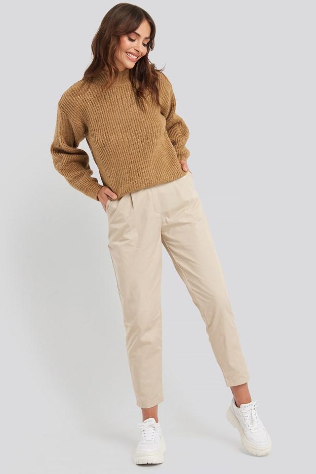Binding Detailed Trousers Trendyol