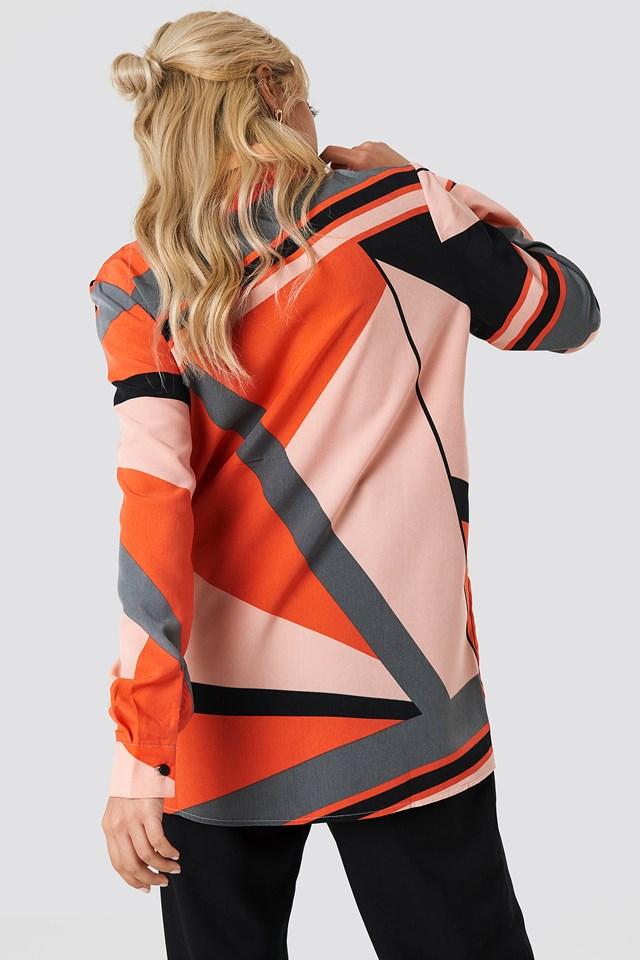 Block Pattern Shirt NA-KD.COM