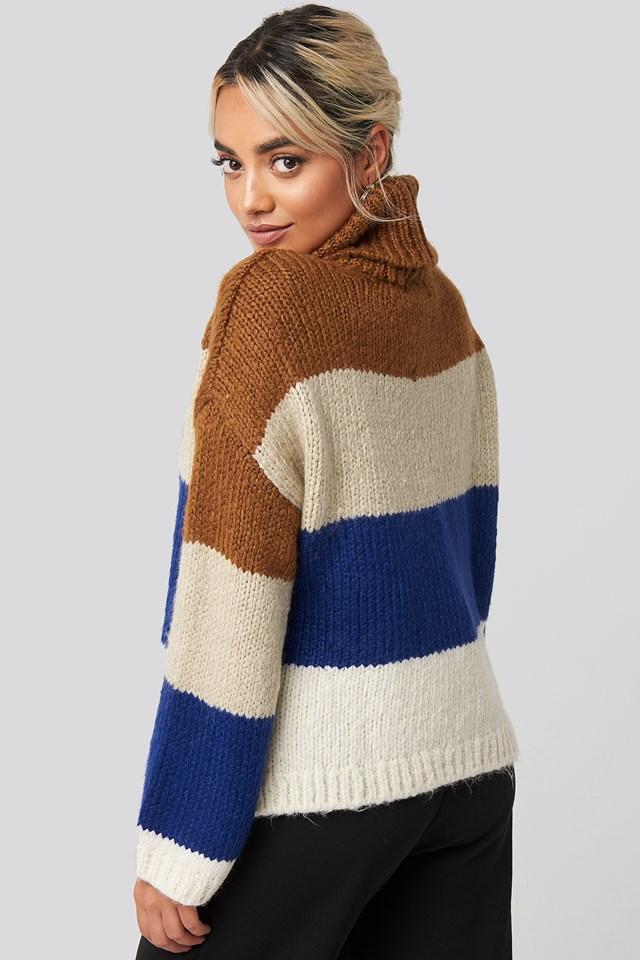 Blocked Sweater Multicolor