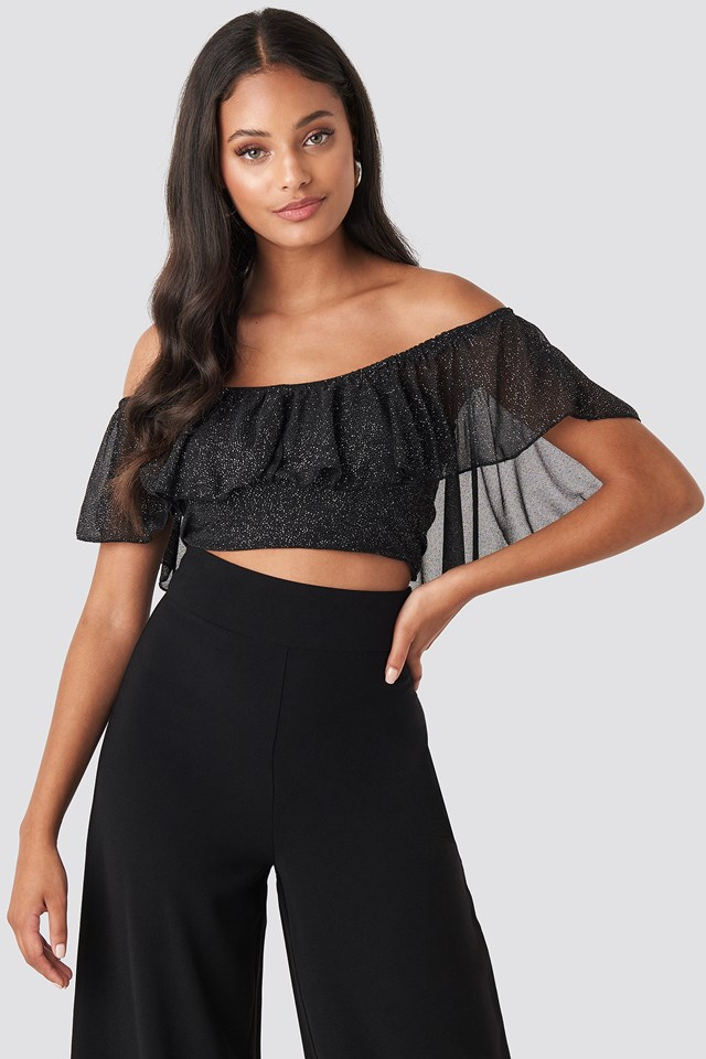 Bora Flywheel Blouse Black
