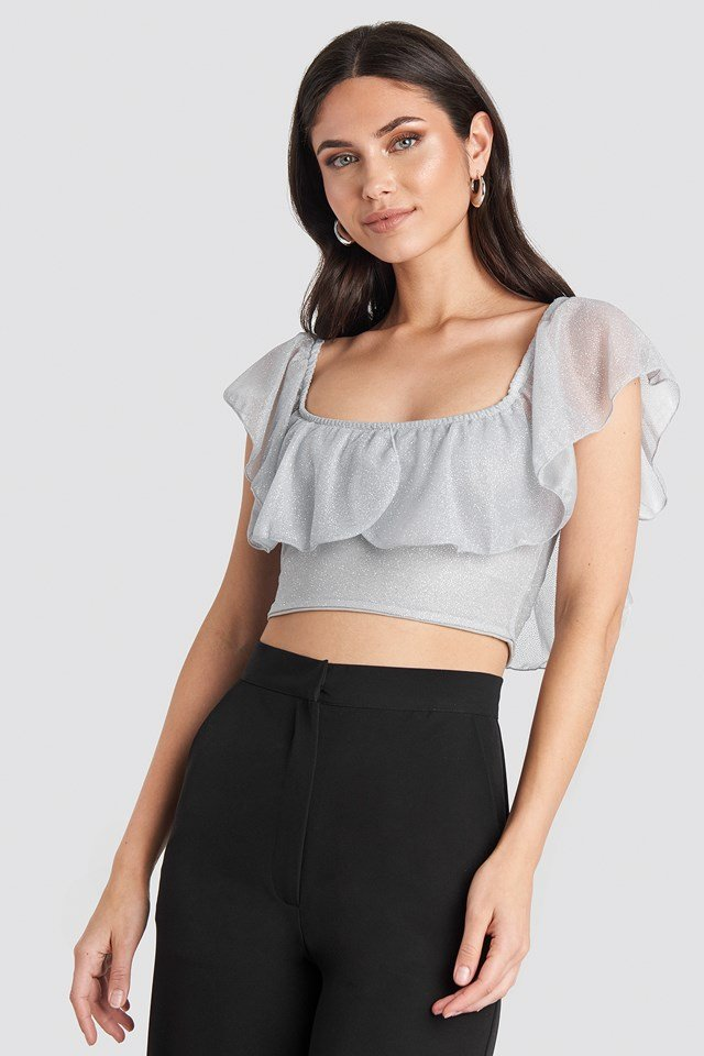Bora Flywheel Blouse Gray