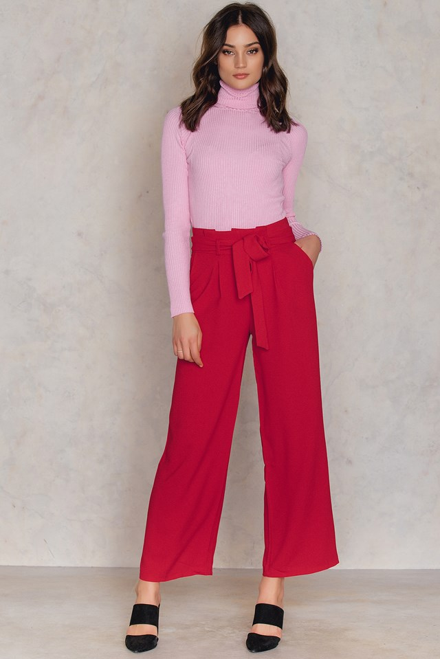 Bordo Pants Burgundy