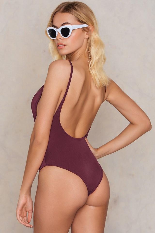 Bordo Swimsuit NA-KD.COM