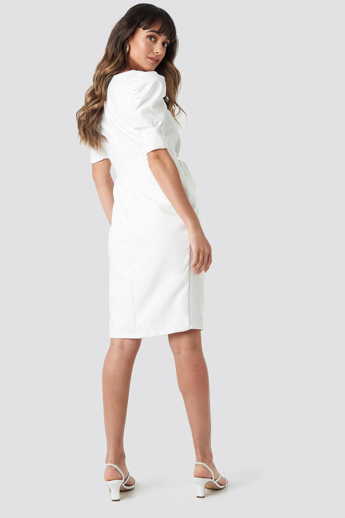 Bow Detailed Dress NA-KD.COM