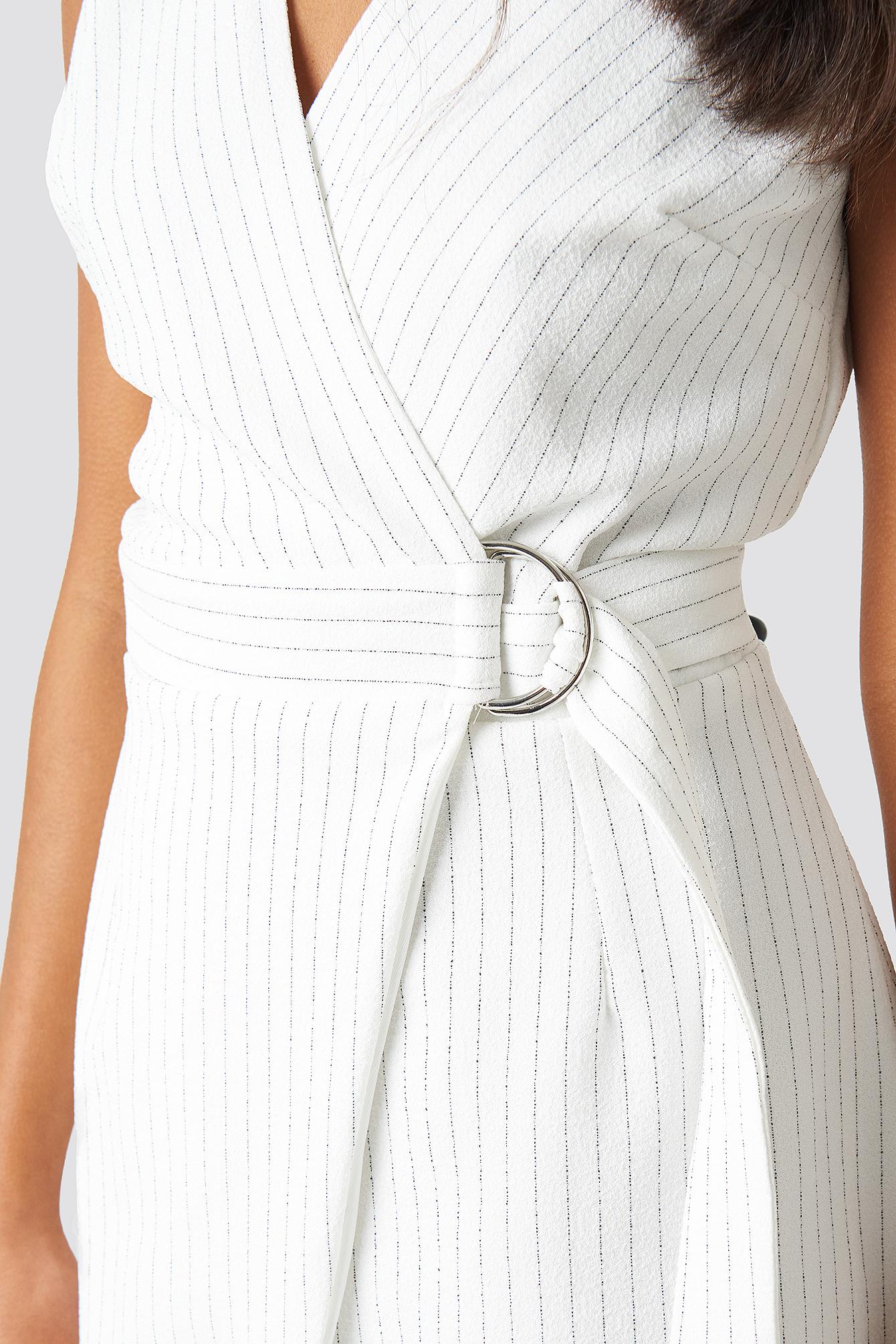 Buckle Detailed Dress NA-KD.COM